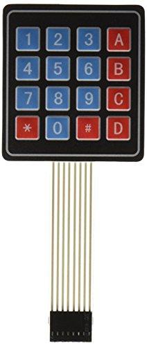 4x4 16 Key Array Membrane Switch Keyboard Touch Pad (Touchpad Membrane)
