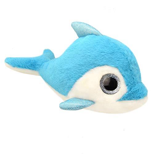 ORBYS Wild Planet 15cm Luxury Handmade Dolphin Soft Toy. Plush Toy ...