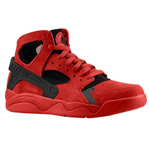 Mens Nike Air Flight Huarache University Red Black 705005-600 US 11.5 (Nike Flight Qs)