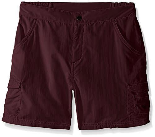 White Sierra Girls Junior Crystal Cove River Shorts, X-Small, Dark Grape