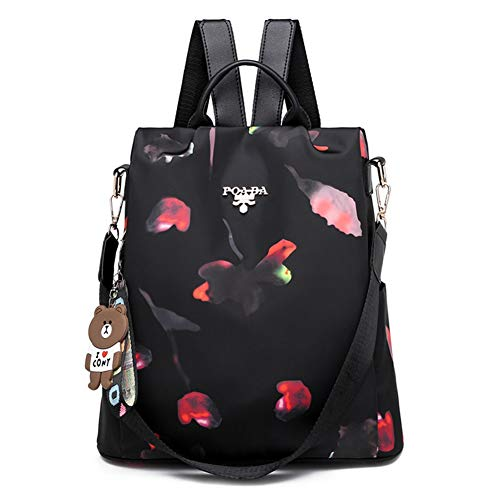 Women's Backpack Fashion Colorful Bag Multipurpose School Travel Backpack Water Repellent Handle Bag for Women from Jasooo