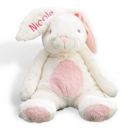 Lillian Vernon Personalized Pink Ultra-Plush My First Easter Bunny - Large 16
