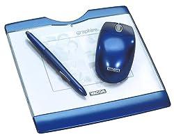 Wacom Graphire3 4x5 Usb Tablet -Sapphire Blue
