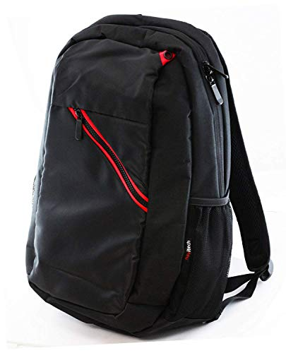 """Price comparison product image Navitech Black Laptop Backpack / Rucksack Compatible with The Asus Zenbook S UX391 13.3"""" / ASUS Zenbook UX331 / ASUS Zenbook UX392"""