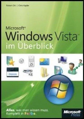 Microsoft Windows Vista Im Überblick  Alles Was Man Wissen Muss