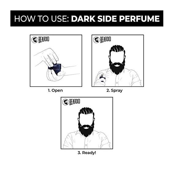 Beardo Dark Side and Origin Perfume Combo
