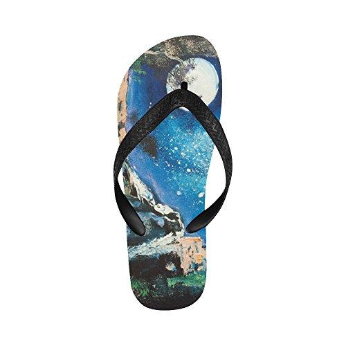 Sandali Da Spiaggia Infradito Paesaggio Magico Da D-story Per Uomo / Donna