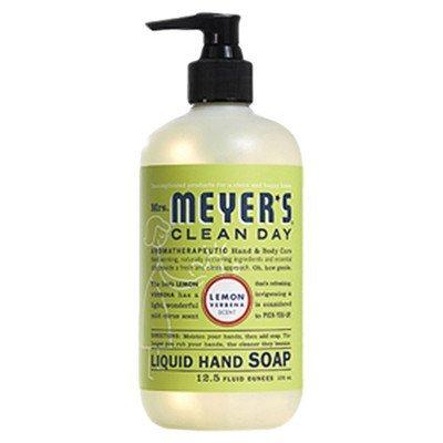 Mrs. Meyers Liquid Hand Soap Lemon Verbena, 12.5 oz (Pack of 2)