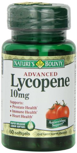 Nature's Bounty Lycopene 10mg, 60 Softgels, Health Care Stuffs