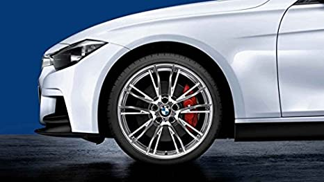Original BMW 2 F22 F23 Verano Completo juego de ruedas mperformance doble radios 624 19pirelli