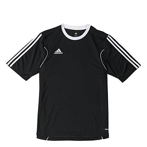 adidas Squad 13 JSY SS - Camiseta para hombre Negro / Blanco