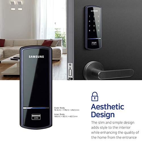 Samsung Shs 1321 Digital Door Lock Rim Deadbolt