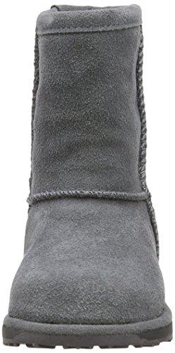 Emu K10773 - Botas de cuero para niños Charcoal
