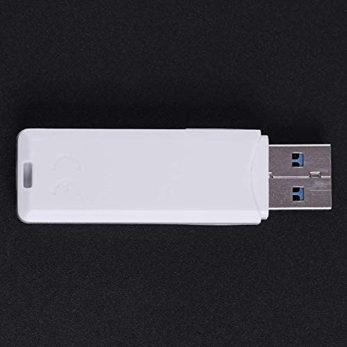 PrinceShop Mini USB3.0 High Speed Card Reader with LED Indicator for Mobile Phone Tablet PC Support for Micro SD TF SD MMC XC Card