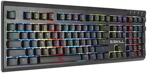 G.Skill Ripjaws KM 570 RGB - Teclado mecánico para Gaming (QWERTY Portugués) Color Rojo