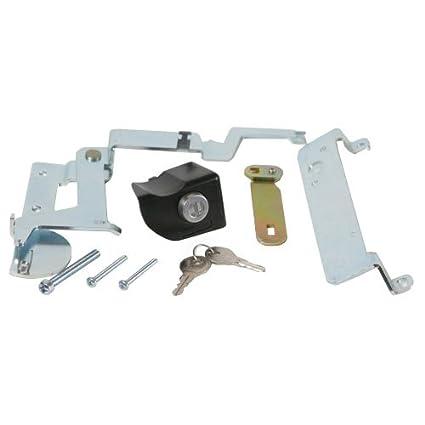 Fits 2005-2015 Honda Ridgeline Pop /& Lock PL6100 Black Manual Tailgate Lock for Honda Ridgeline Works with//without factory backup camera