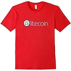 Mens Litecoin Tshirt - Crypto Tshirt - LTC HODL 2XL Red