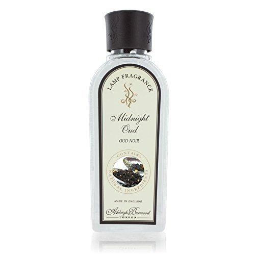 Ashleigh & Burwood Fragrance Lamp Oil - 500ml - MIDNIGHT OUD - Safe Flameless Home Scenting. TRTAZ11A