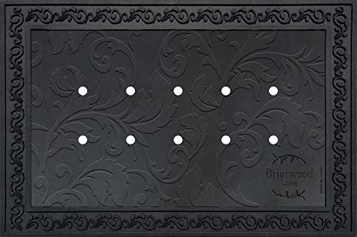 Briarwood Lane Outdoor Rubber Doormat Tray for 18