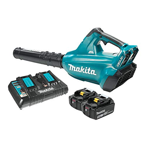 Makita XBU02PT-R 18V X2 LXT 5.0 Ah Brushless Blower Kit (Renewed) ()