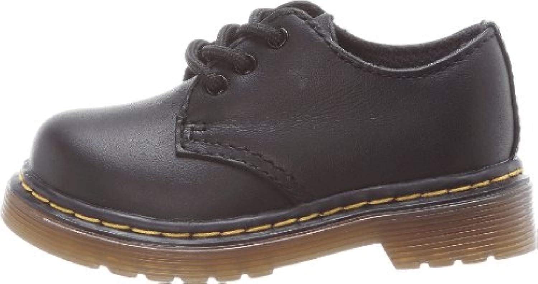 Dr Martens Infants Colby Black Shoes-UK 3 Infant