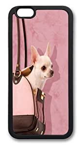 For LG G2 Case Cover Handbag Chihuahua Custom Hard shell Soft Protector For LG G2 Case Cover Black