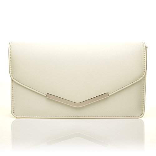 LUCKY Ivory Bag Medium Satin Ivory Size LUCKY Clutch rrwxaU