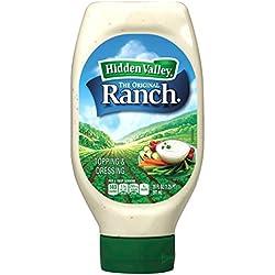 Hidden Valley Original Ranch Dressing, Easy Squeeze Bottle, 20 Fl Oz