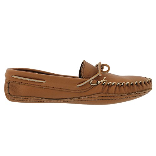 3000 Leather Camel Moccasin Deerskin SoftMoc Sole Men's Lined Double FXww6qAx5