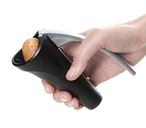 Artiart Nussknacker DEFT HAND | stabil, kraftvoll, sicher | für Walnüsse, Haselnüsse, Paranüsse, Macadamia, Pistazien etc.
