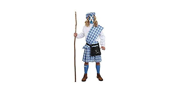 DISBACANAL Disfraz de Braveheart escocés - Único, XL: Amazon ...