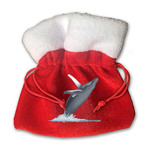 XFEQAZV California Monterey Bay Whale Personalized Bag Christmas Tradition and Nice Decorations Bags