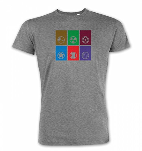 Calling Cards Of The Assembled Premium T-shirt - Heather Grey (Flower Calling Card)