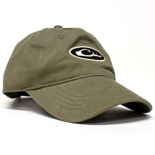 Drake Waterfowl Oval Logo Six Panel Baseball Cap - Unformed - Loden
