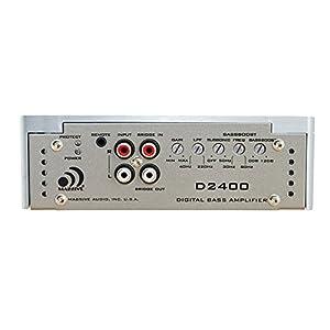 Massive Audio D2400 - Car Audio 2,400 Watt D-Block Series, Monoblock Car Amplifier, Bass Boost, 1 Ohm Stable