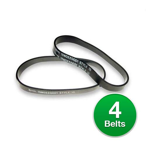 Royal Dirt Devil Belt, Style 15 Dynamite Flat (4 Belts)