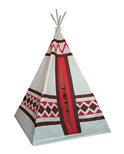 Dream House Portable Indoor Indian Playhouse Toy Teepee for Kids Folding Child - Hut The Indian