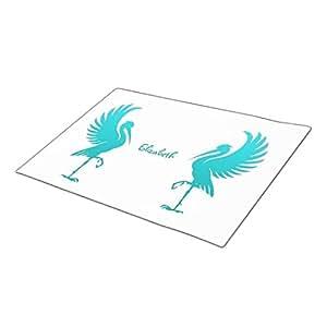 bellous Doormat Stork Bird Silhouette Cheap Door Mats