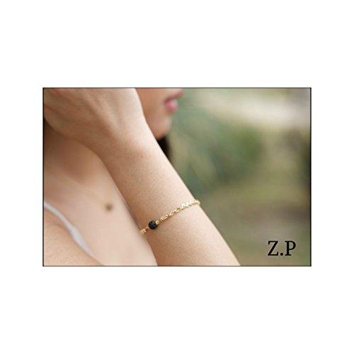 Z.P Elegant essential oil Bracelet-Lava Stone Diffuser-Aroma