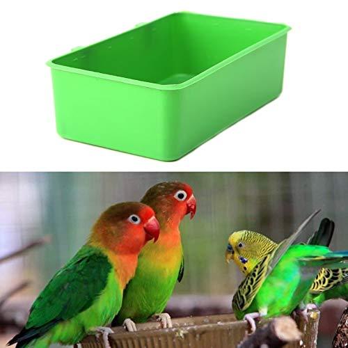 VietFA Comedero para pájaros, comedero para pájaros, Cuencos de ...