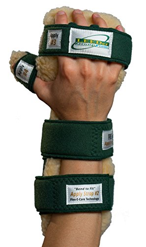 LEEDer RESTing Hand Splint - Left, Size: Large, Width of MP Joint: 3 1/2''-4'' (8.9-10.2cm) by Rolyn Prest