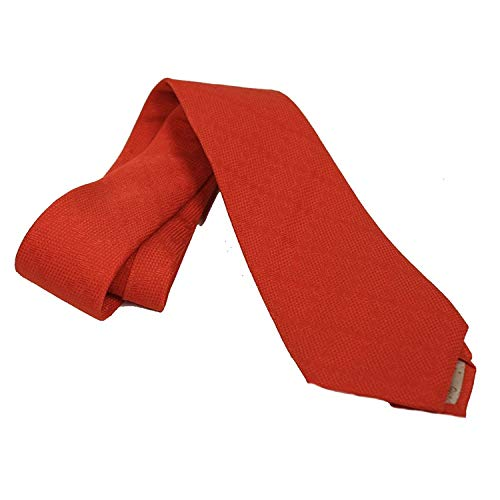 Gucci Woven Silk Men's Necktie 352943, Orange ()