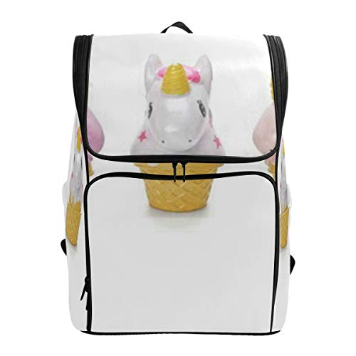 134e939e16a0 LoveBea Laptop Backpack Ice CreamSchool Backpack for Men Large Rucksack  Bookbag