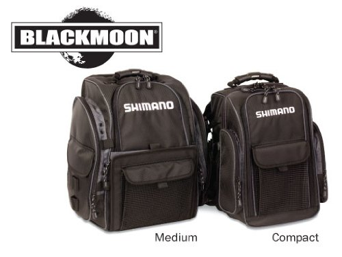 Shimano Blackmoon Medium Fishing Backpack - Model: BLMBP270BK