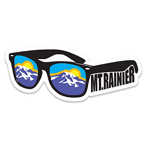 Mtn Supply Rainier National Park Sunglasses Decal Sticker