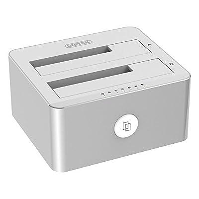 UNITEK USB 3.0 to SATA External Hard Drive Docking Station for 2.5 3.5 Inch HDD SSD SATA I/ II/ III from UNITEK