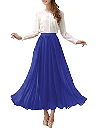 Amazon.com: Blue - Skirts / Clothing: Clothing, Shoes & Jewelry
