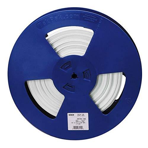 ''Kroy, Inc. 98-WT31-0342 1/8 IN WHITE SHRINK TUBE REEL''