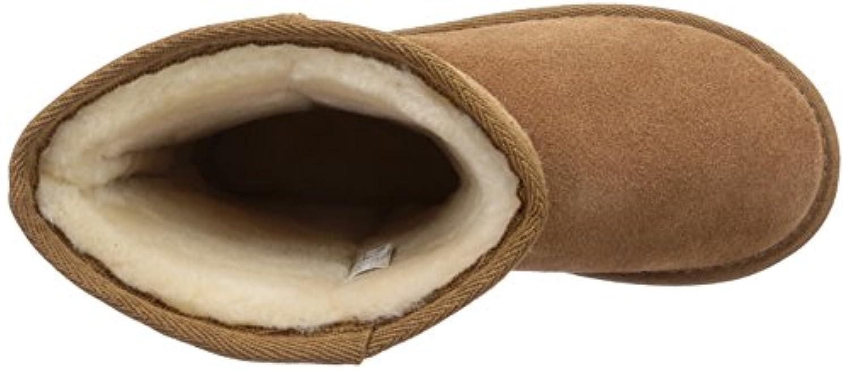 Emu Unisex-Child Wallaby Lo Boots, Chestnut, 1 UK F