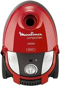Moulinex Bolsa de aspiradora compacta con mo153301 Compacteo, 1800 W, 27 Kpa 2 L), color rojo: Amazon.es: Hogar